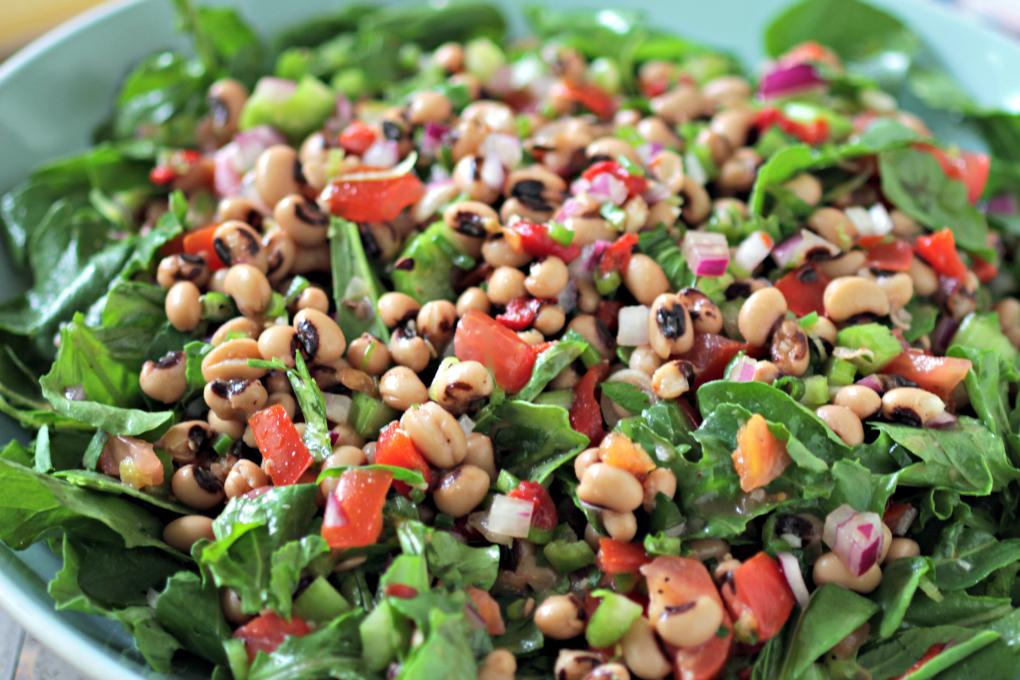 Black Eye Pea Salad h