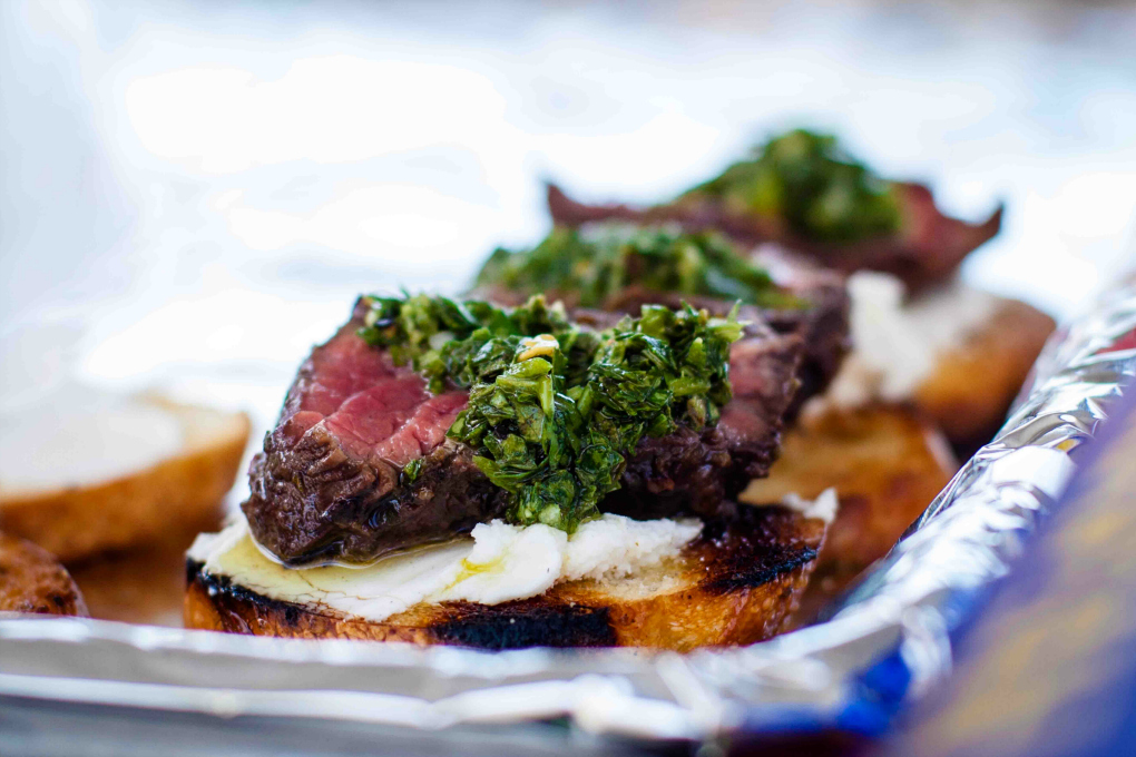Hanger with Chimichurri - h