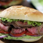 Your Game Day Sandwich: California Tri Tip with Avocado