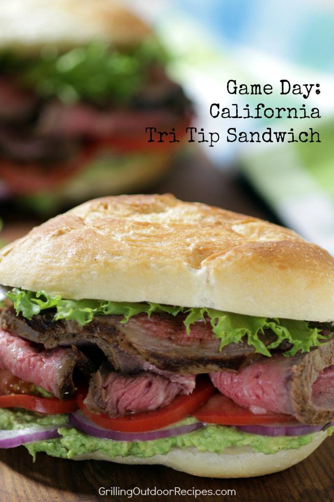 California Tri Tip Sandwhich - vert