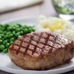 Pork Chops with Dad's Garlic Rub