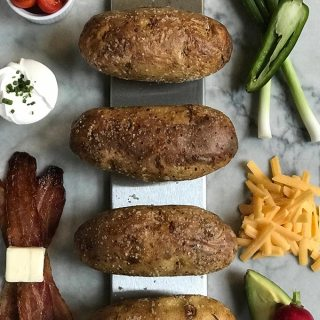 Grilled Baked Potato Bar