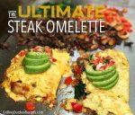 The Ultimate Steak Omelette