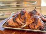 Amazing Grilled Spatchcock Turkey Tutorial on the Bull Grill
