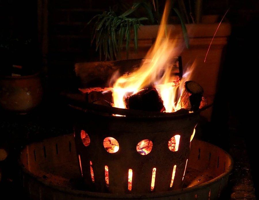 feuerkorb flammen