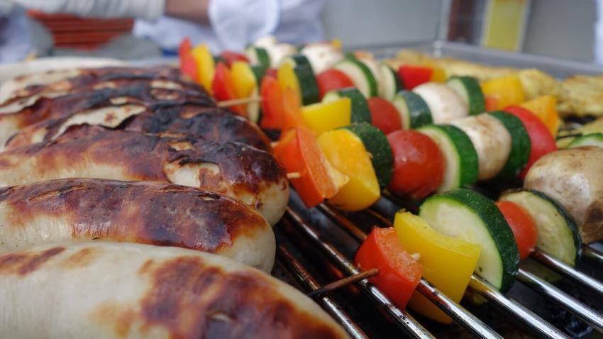 edelstahl grillspieße