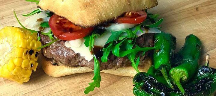 Der mediterrane-Burger