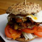 Der Chicken-Burger
