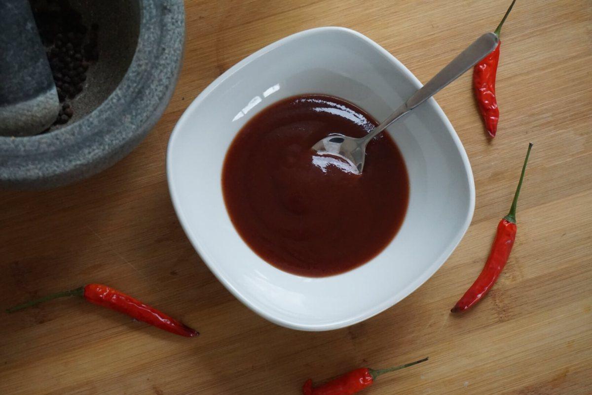 Kirsch-Chili BBQ-Sauce