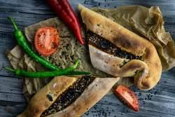 Türkische Pide (Vegan)