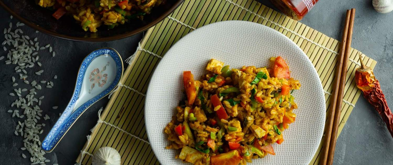 Gebratener Reis grillnations
