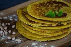 Kichererbsenmehl Pfannkuchen Rezept grillnations