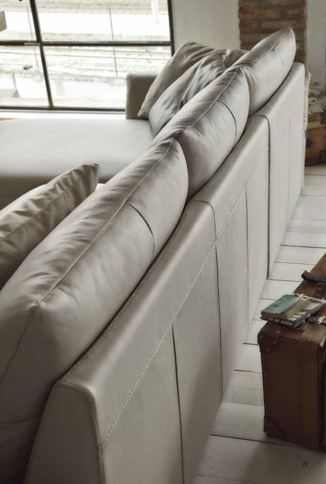 La speciale sagomatura della scocca London permette una perfetta aderenza della spalliera ed un ottima profondità di seduta in soli 94 cm di profondità totale. Per un confort irresistibile