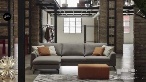 Anche in uno spazio limitato l'elemento chaise longue può creare un angolo di straordinario relax