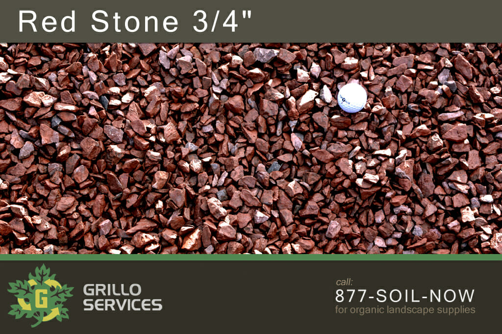 Red Stone 3/4""