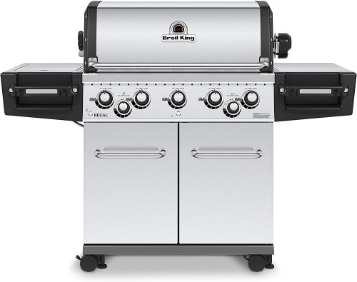Broil King Regal Pro S590 gas grill with rotisserie burner