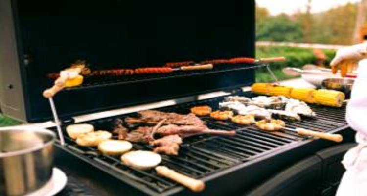 Gas Grills with Rotisserie