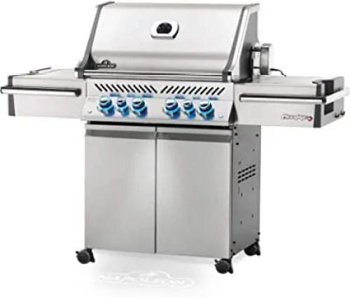 Napoleon Prestige 500 gas grill with rotisserie