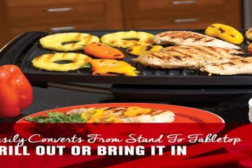 electric grill wit stand