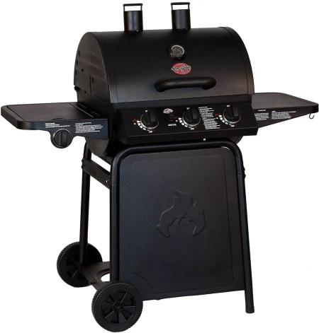Char-Griller E3001 Grillin' Pro 40,800-BTU Gas Grill best gas grill under 200