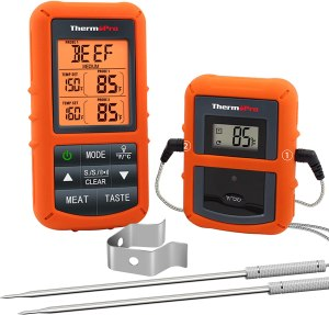 ⦁ ThermoPro TP20 Wireless Meat Thermometer with Dual Probe