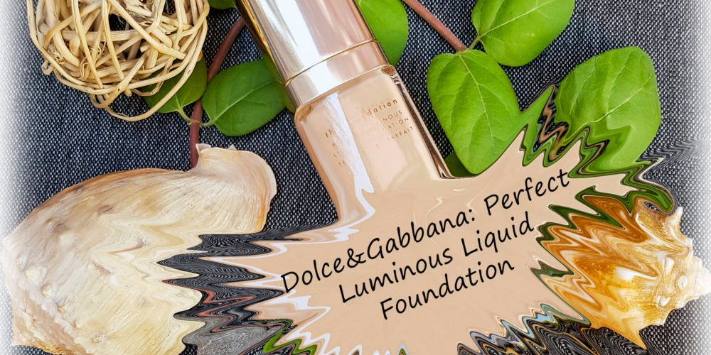 Фон дьо тен от Dolce&Gabbana: Perfect Luminous Liquid Foundation