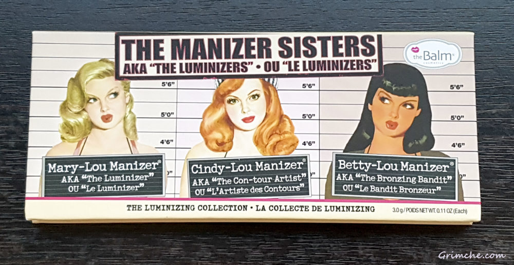 theBalm The Manizer Sisters Collection Palette