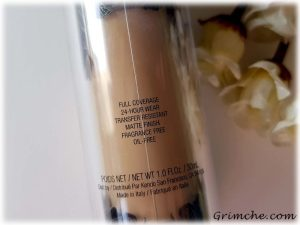 Kat Von D Lock-It Tatoo Foundation promisses