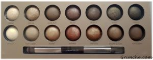 Палитрата The Delectable Palette Delicious Shades Of Nude на Laura Gellar 3