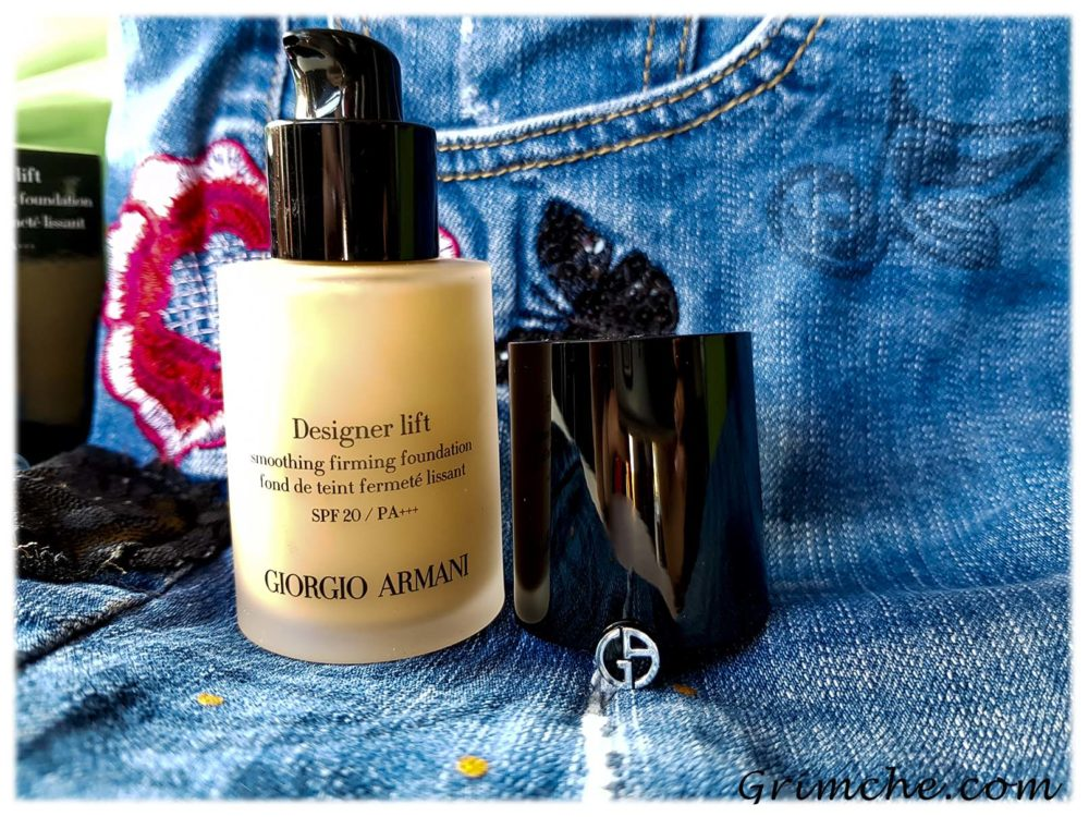 фон дьо тен от Giorgio Armani Designer Lift Foundation 2