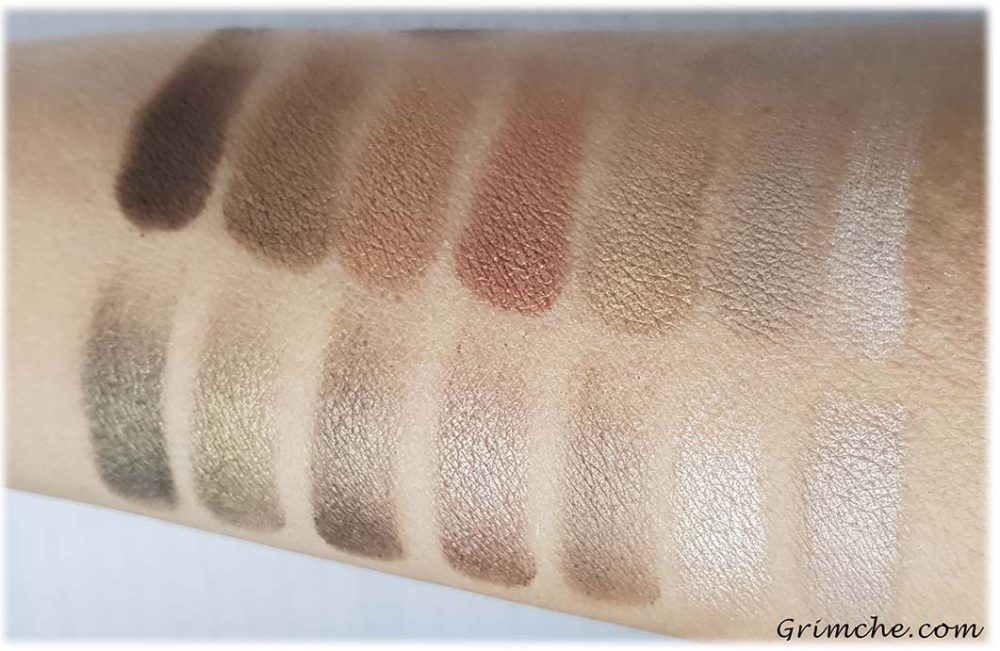 ПалитратаThe Delectable PaletteDelicious Shades Of Nude наLaura Gellar swatches wet
