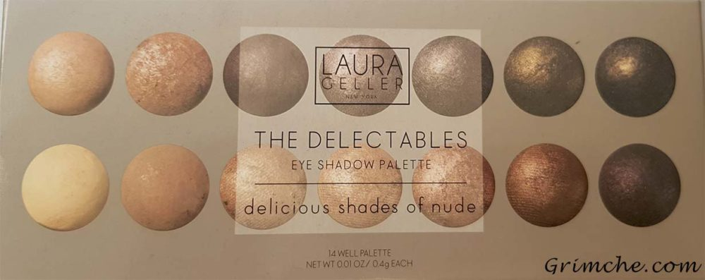 Палитрата The Delectable Palette Delicious Shades Of Nude на Laura Gellar