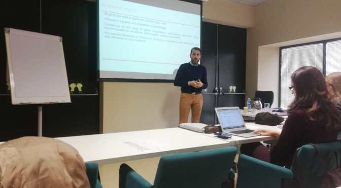 Participación en el Training on Proposal Preparation H2020