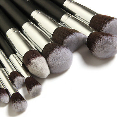 10pcs-Kabuki-Style-Professional-Make-up-Brush-Set-Foundation-Blusher-Face-Powder-0-3