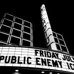 Public Enemy, The Palladium, photo by Wes Marsala