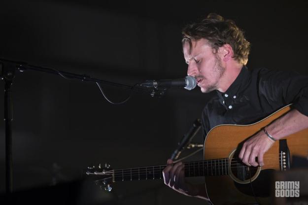 Ben Howard, The Shrine Auditorium, photo by Wes Marsala