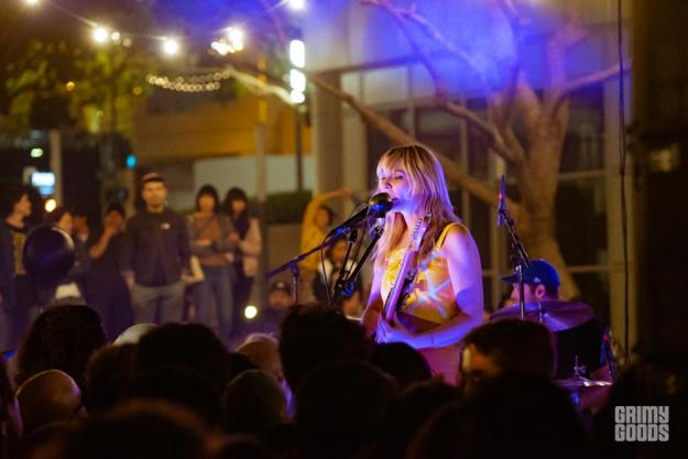 Cherry Glazerr at 7th and Fig Photo By ZB Images