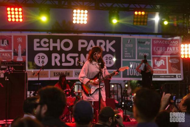 La Luz at Echo Park Rising 2016