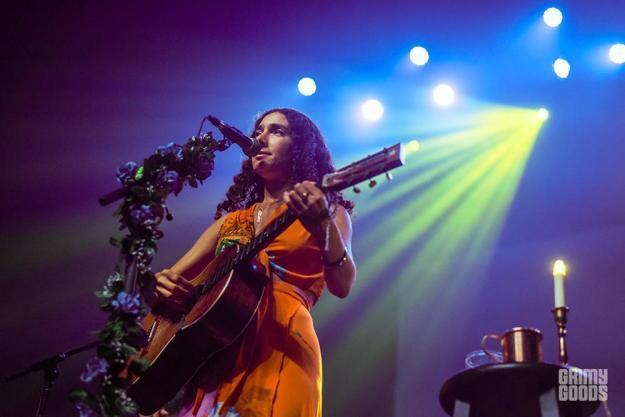 Bedouine at the Fonda Theatre shot by Danielle Gornbein