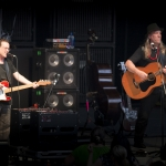 Violent Femmes, The Greek Theater, photo by Wes Marsala