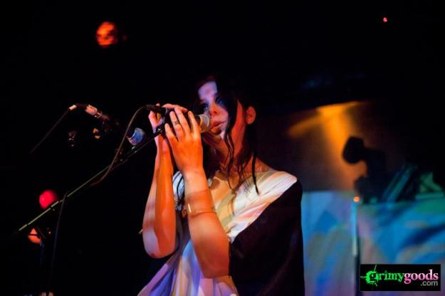 Chelsea Wolfe with Violet Tremors and Tearist at The Echoplex - photos- May 15, 2012
