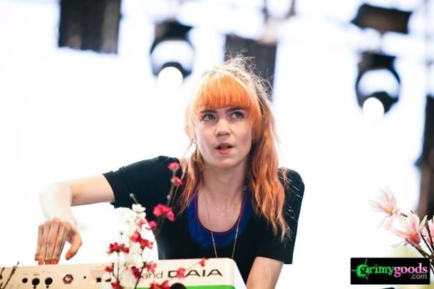 Grimes photos coachella