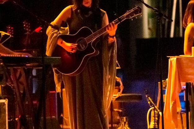 Chelsea Wolfe band live photos