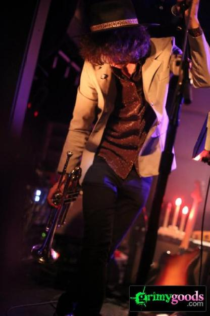 Foxygen with Sam Flax at the Echo photos