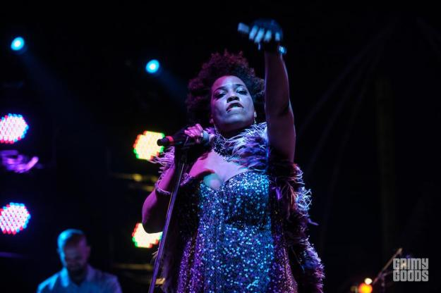 Macy Gray with Galactic Hangout Fest 2015