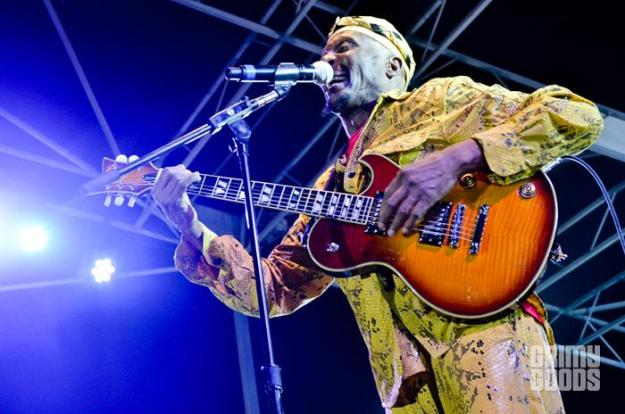 Jimmy Cliff at the Twilight Concert Series at Santa Monica Pier - Photo: Farah Sosa