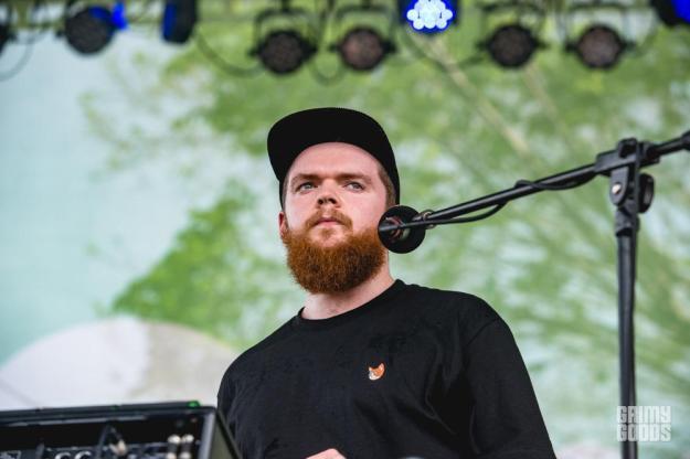 Jack Garratt at Spotify House shot by Maggie Boyd