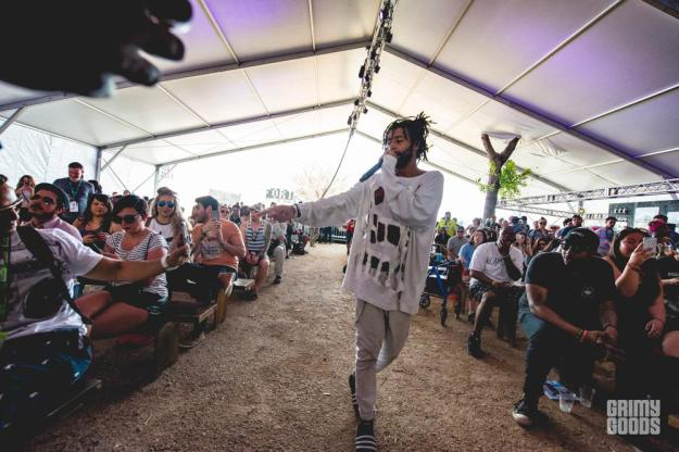 Yung Jake at Fader Fort Shot by Maggie Boyd