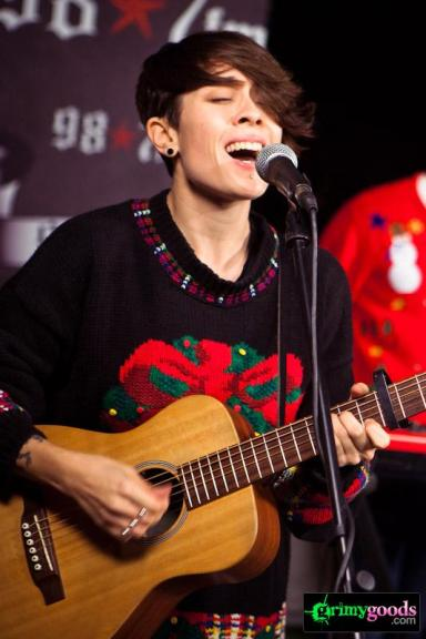 Tegan and Sara Photos 987FM Hollywood Tower Penthouse