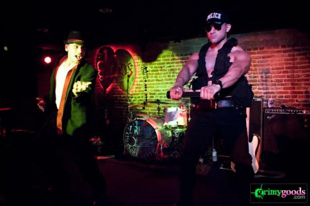 The Bronx with Death Hymn Number 9 at Los Globos - Photos - February, 2013